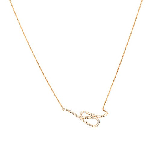 DIAMOUR Collier 54 Brillanten zus. ca. 0,40ct Gold 585