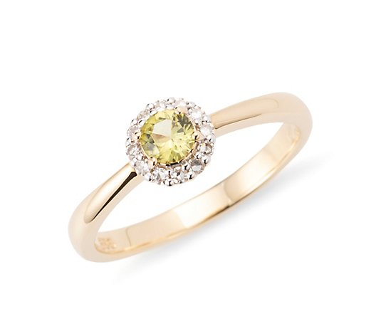JEPARA Pallavin Ring ca. 0,20ct 12 Diamanten 0,10ct Gold 585
