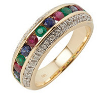 Edelsteine AAA / 1,00ct Ring Brillanten 0,25ct Gold 585 - 607475