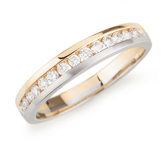 PLATINITY Ring 15 Brillanten zus. ca. 0,30ct Platin 950/Gold 750