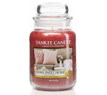 Yankee Candle Large Jar Housewarmer 623g Duftkerze Home Sweet Home