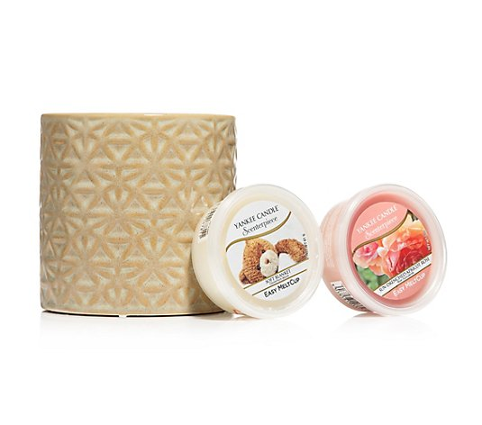 YANKEE CANDLE® Scenterpiece-Set Beimont inkl. 2 Meltcups 3tlg.