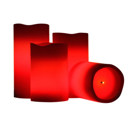 elambia flammenlose kerzen mit glimmdocht timerfunktion 4tlg set page 1. Black Bedroom Furniture Sets. Home Design Ideas