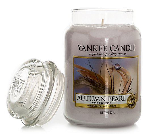 YANKEE CANDLE® Dufkerze Autumn Pearl Brenndauer 110-150h 623g