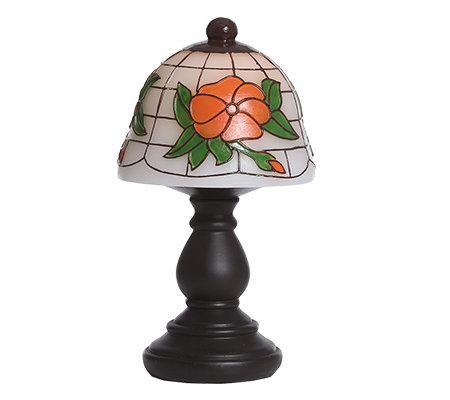 b4f399119cee58 ELAMBIA flammenl. Kerze Tischlampe Tiffany-Stil H. ca.29cm - Page 1 ...