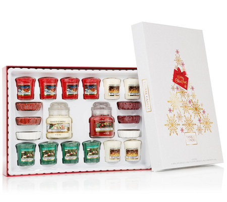 YANKEE CANDLE® Christmas Selection Geschenkbox 20tlg.