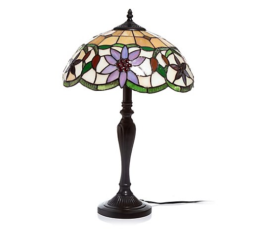 my HOME stories Stehlampe Tiffany Stil handefertigt Höhe ca. 53cm
