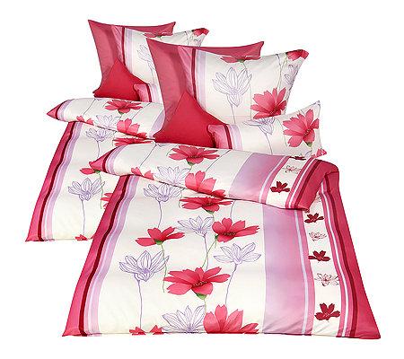 Jerymood Mf Jersey Interlock Bettwäsche Blüten Doppelbett 10tlg