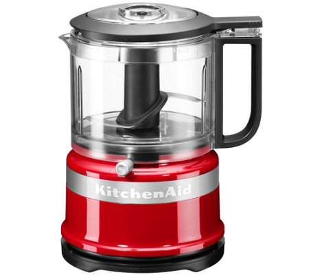 KITCHENAID® Food Processor One-Touch-Bedienung 240W, 2 Stufen Doppelklinge