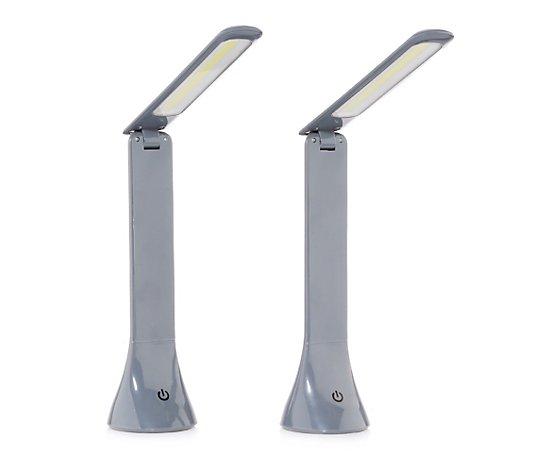 B Ware Desk Lamp Led Tischleuchten Falt Dimmbar Bis 110 Lumen 2st Qvc De