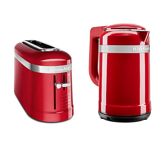 KITCHENAID® Design Collection Frühstücks-Set Toaster & Wasserkocher 1,5l