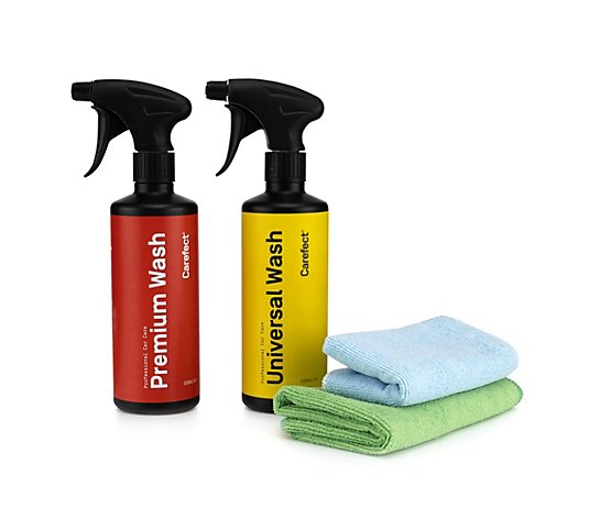 CAREFECT Auto-Reinigunsmittel Universal- & Premium Wash 2x 500ml