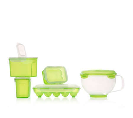 LOCK&LOCK Back-Set mit Eierbox 460ml-3l 5tlg.