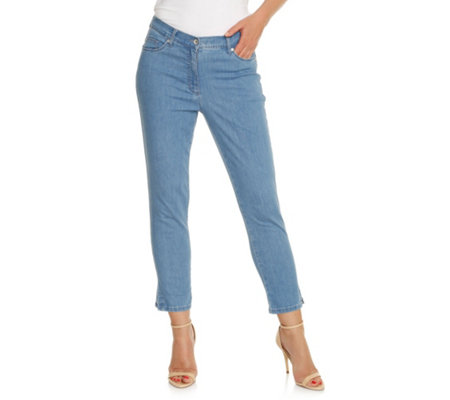 B-Ware RAPHAELA by BRAX 7/8-Hose Piara Light Denim Push Up Effekt