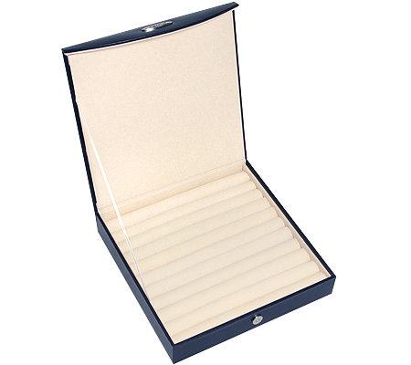 prezerve schmuckkasten f r max 100 ringe mit flexzorb anlaufschutz page 1. Black Bedroom Furniture Sets. Home Design Ideas