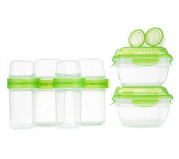 LOCK&LOCK Joghurt To-Go Becher & Lunchbox 6 Dosen - 882252