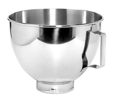 Kitchenaid Edelstahlschussel 4 28l Spulmaschinen Geeignet Qvc De