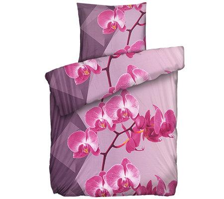 Jerymood Mf Jersey Interlock Bettwäsche Orchideen Einzelbett2 Tlg