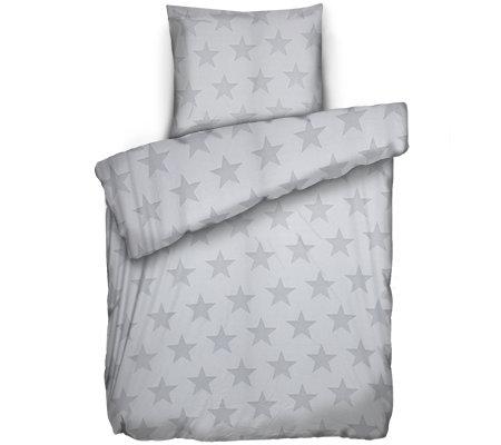 Jerymood Mf Jersey Interlock Bettwäsche Sterne Einzelbett2 Tlg