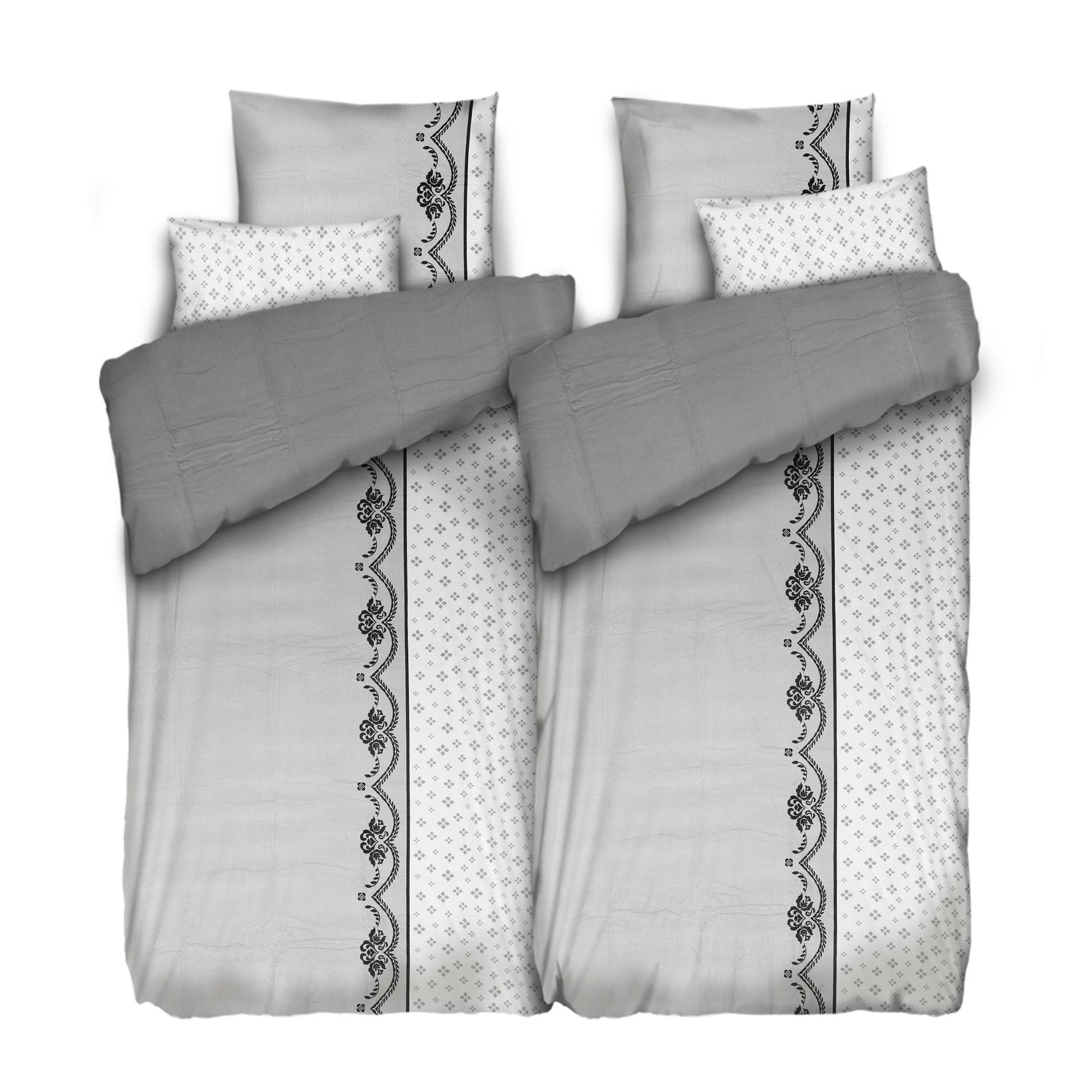 bedsie Betten-Set bettwäschelos 2-seitig bedruckt