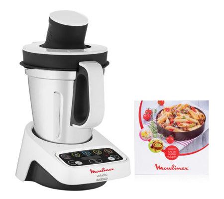 MOULINEX Volupta Küchenmaschine mit Kochfunktion inkl. 50 Rezepten ...