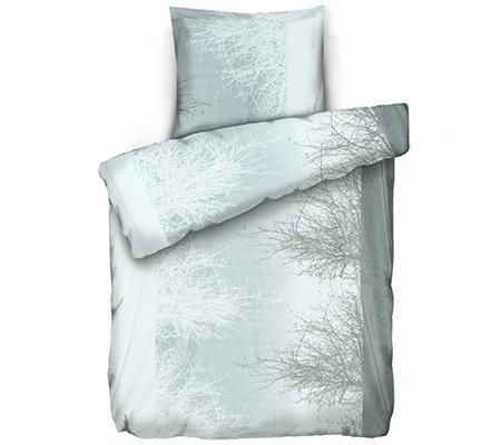 Bettwäsche Polarstern Mikrofaser Flanell Fleece Wendebettwäsche