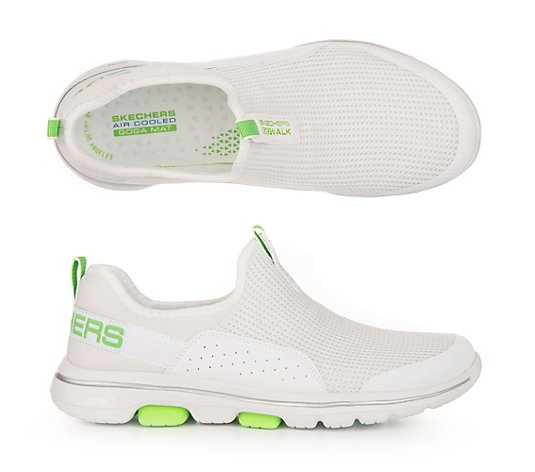 B-Ware SKECHERS Damen-Slipper Go Walk 5 Textil