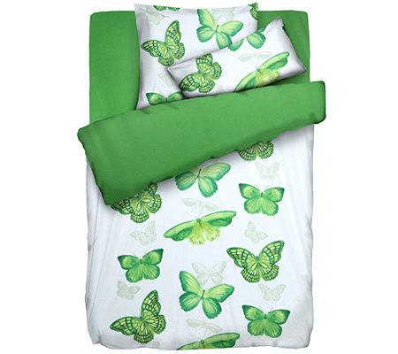 Jerymood Mf Jersey Interlock Wendebettwäsche Schmetterlinge