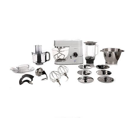 Kenwood Kuchenmaschine Titanium Chef Lafer Edition Mehrtlg Zubehor Set Qvc De