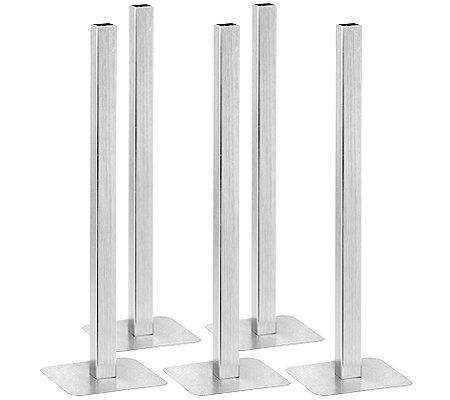 TINE WITTLER Magnetvase Aluminium kippfest Set 10tlg ...