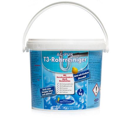 Favoriete AQUA CLEAN PUR Reiniger für Rohre & Abflüsse mit Frischeduft 5kg NS19