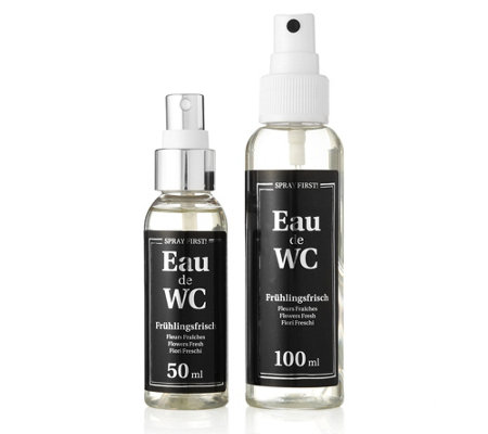 wc deo neutralisiert unangenehme ger che in bad wc 100ml 50ml page 1. Black Bedroom Furniture Sets. Home Design Ideas