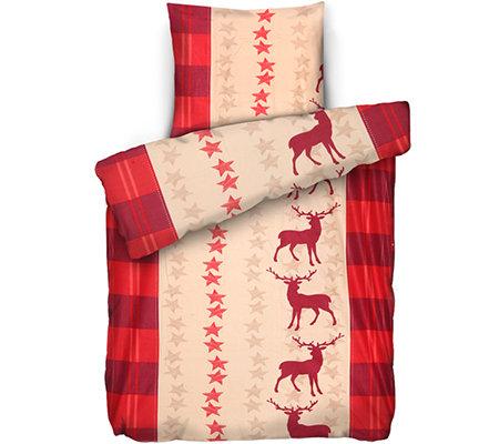 winterengel mf edelflanell bettw sche hirsche einzelbett 2 tlg page 1. Black Bedroom Furniture Sets. Home Design Ideas