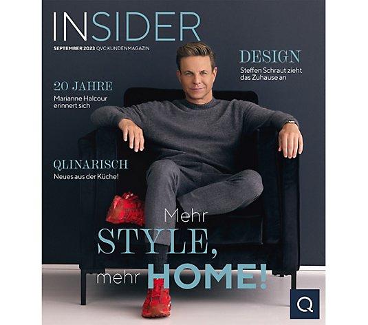 QVC Insider Programm- & Lifestylemagazin 12 Ausgaben im ...