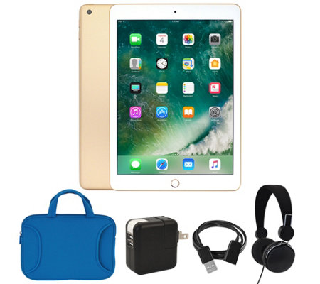 "Apple iPad 9.7"" 128GB Wi-Fi with Headphones & Accessories"