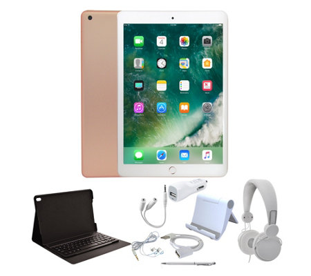 "Apple iPad 9.7"" 32GB Wi-Fi with Keyboard & Accessories"