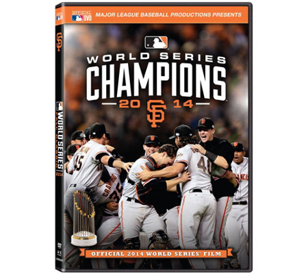 San Francisco Giants 2014 World Series DVD