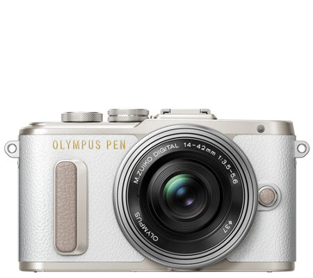 Olympus PEN E-PL8 16.1MP Mirrorless Camera with14-42mm Lens