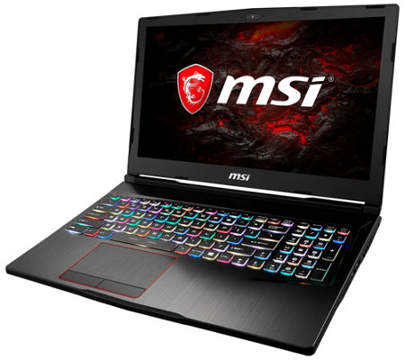 "MSI 15.6"" Gaming Laptop - i7, 16GB RAM, 128GB SSD, 1TB HDD"