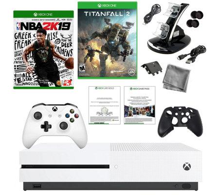 Xbox One S 1TB NBA 2K19 w/ Titanfall 2 — QVC com