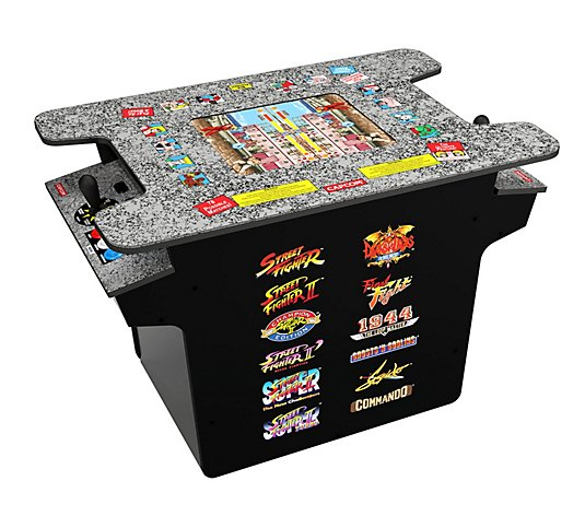 Arcade1Up Street Fighter Head-to-Head Home Arcade Gaming Table