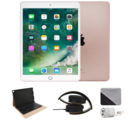 "Apple iPad Pro 10.5"" 256GB Wi-Fi with Accessories - Rose Gold"
