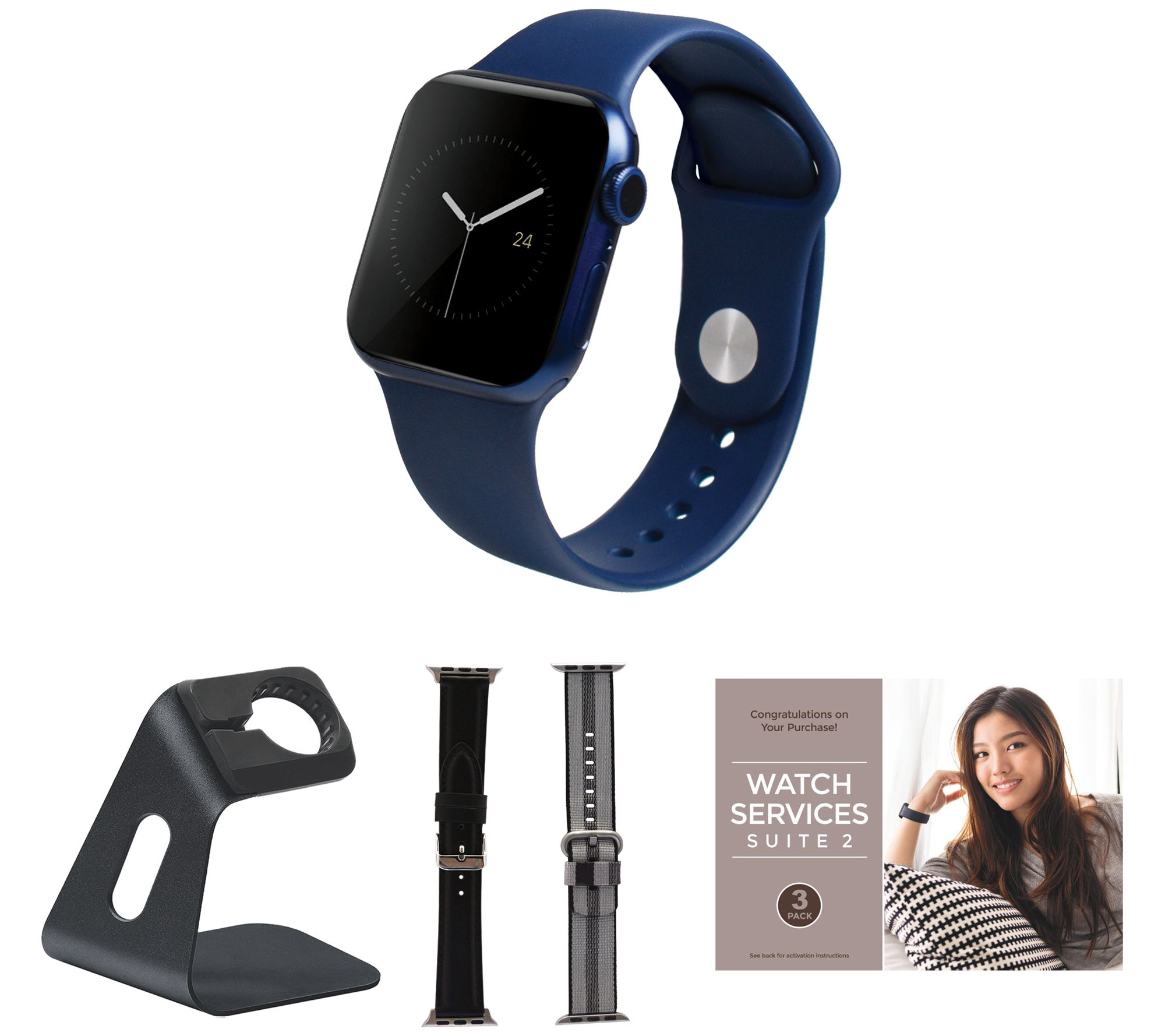 Apple Watch Series 6 GPS 44mm Smartwatch with Accessories - QVC.com