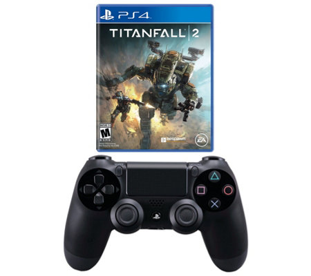 Ps4 Titanfall 2 With Ps4 Dualshock 4 Controller Black
