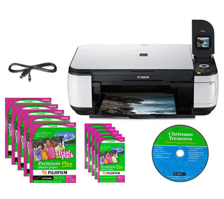 Canon Pixma Mp490 All In One Printer Bundle Qvccom
