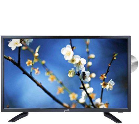 "SuperSonic SC-2412 24"" Class LED HDTV with Built-in DVD Playe"