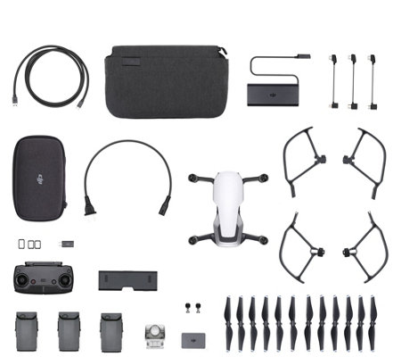 DJI Mavic Air Fly More Combo Pack - Arctic White