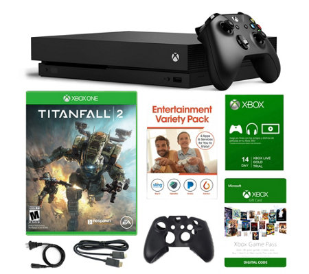 Xbox One X 1TB Console with Titanfall 2 and Voucher