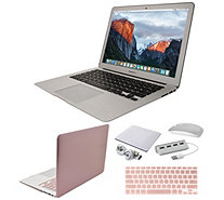 "Apple MacBook Air 13"" Laptop with Clip Case, Wireless Mouse and Accessories - E232404"