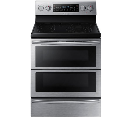 Samsung 5.9 Cu. Ft. Flex Duo Electric Range - Stainless Steel